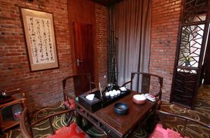 古色古香小型茶馆装修设计效果图