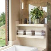 别墅浴室置物架设计