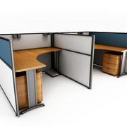 简约时尚办公桌设计
