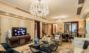 大户型别墅精致客厅