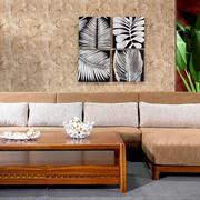 中式客厅经典沙发装饰