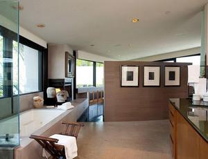 欧式简约风格浴室背景墙