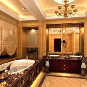 欧式风格厕所设计图片
