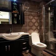 灰色调厕所设计图片