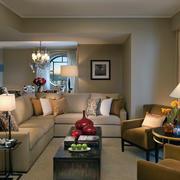 客厅吊顶设计灯光设计