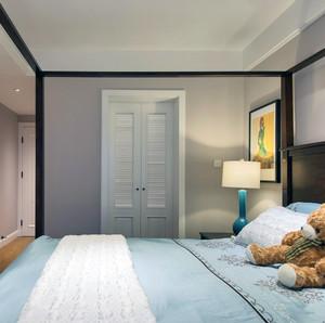 大户型精致舒适卧室隐形门装修效果图