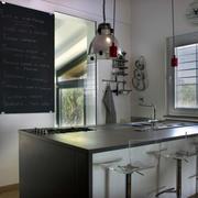 别墅私人厨房装修设计成品图