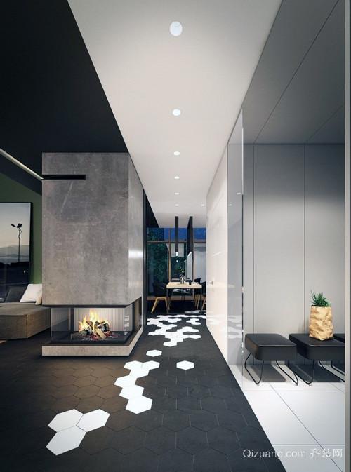 欧式2层小别墅内部设计装修效果图