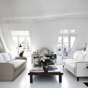 公寓阁楼白色家装陈列