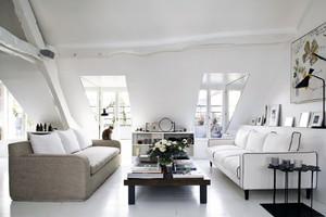 欧式奢华2层复式公寓式住宅装修图例