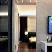 卧室隐形门装修效果图