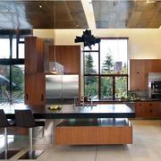 开放式厨房装修唯美图