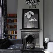 美式别墅女生卧室设计美式别墅典雅书房设计
