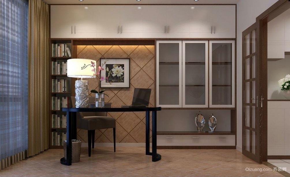 宜家各种风格的小型书房装修效果图