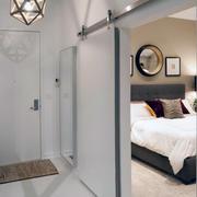 卧室隐形门装修整体图
