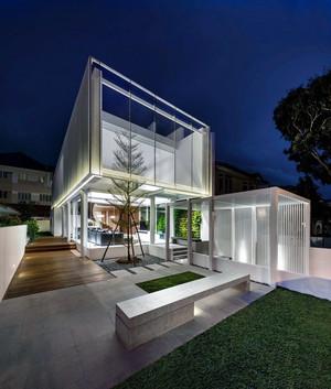118㎡高度体验感公寓式住宅装修效果图