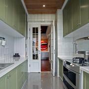 公寓内厨房装修设计效果图