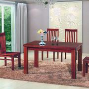 餐厅实木餐桌椅装修实例