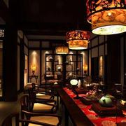 传统型茶馆设计图片