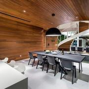 公寓实木阁楼设计