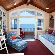 纯美地中海风格书房