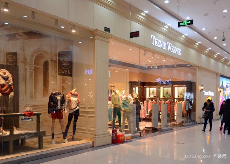 5层时尚风格商场设计装修效果图
