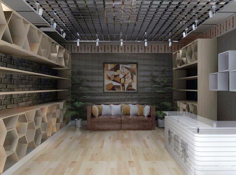 50平米家居饰品店设计效果图