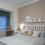 美式风格简约系列卧室墙面设计