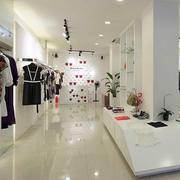 欧式简约风格服装店吊顶设计