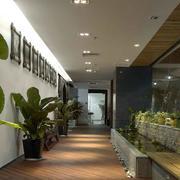 办公室绿化装饰展示
