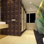 厕所地板砖装修设计