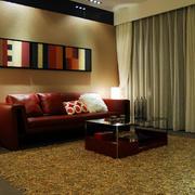 现代创意沙发装修图片