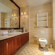 现代美式风格的卫生间