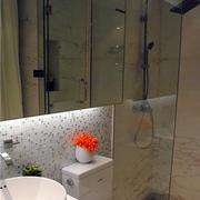 复式楼卫生间镜饰装修
