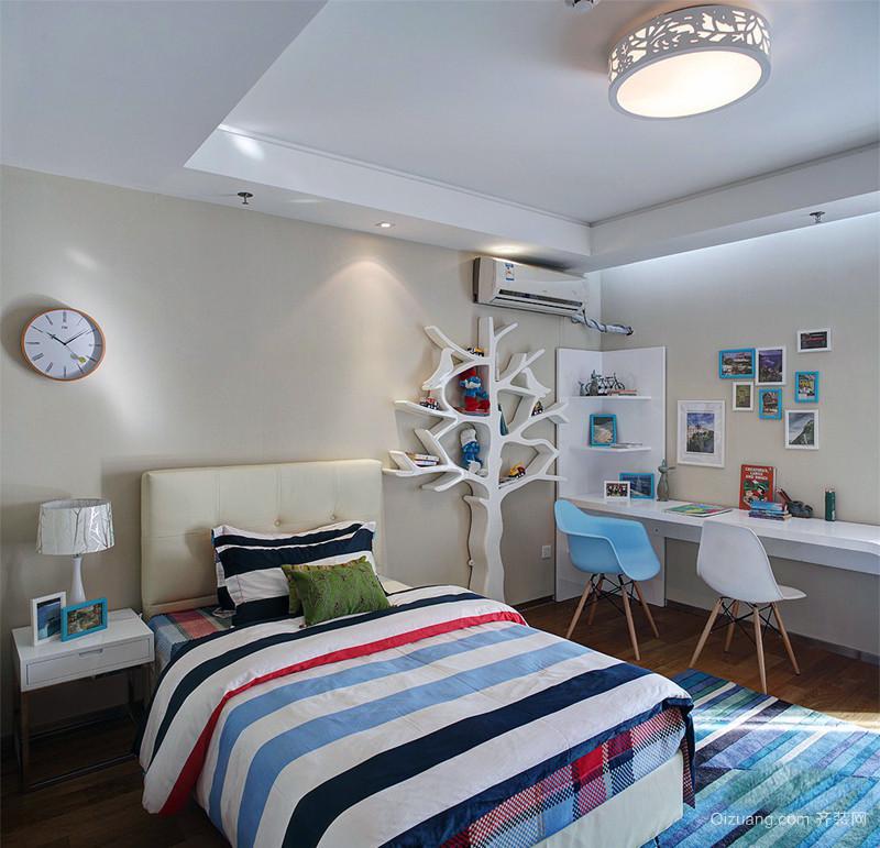 美式90平米带阁楼复式 房屋装修 效果图