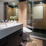 90平米简约欧式卫生间设计