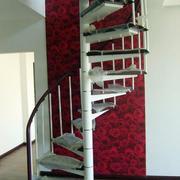 唯美风格楼梯装修图片