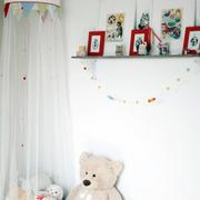 小户型儿童房置物架设计