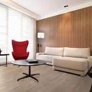 儒雅气质的客厅地板