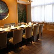 新中式大餐厅地板