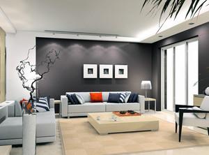 三居室宜家欧式室内装潢设计效果图