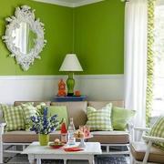 精巧自然的客厅壁纸