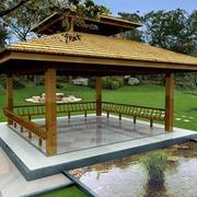 园林景点凉亭设计