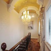 两层别墅石膏板走廊吊顶装饰