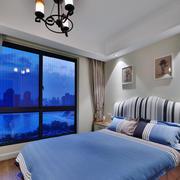简约款蓝色清新款式客厅设计