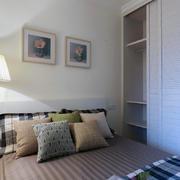 90平米卧室精装效果图