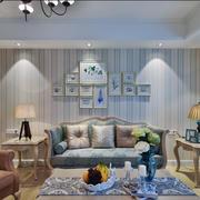 现代简约客厅窗帘设计