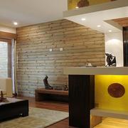 后现代风格客厅射灯装饰