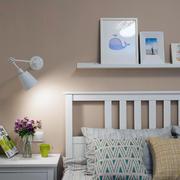 女生现代白色简约款式卧室设计