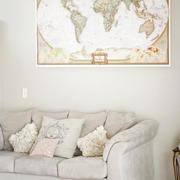 小户型客厅沙发背景墙装饰